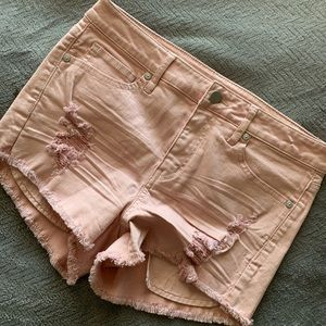 Pants - Pink PASTEL shorts